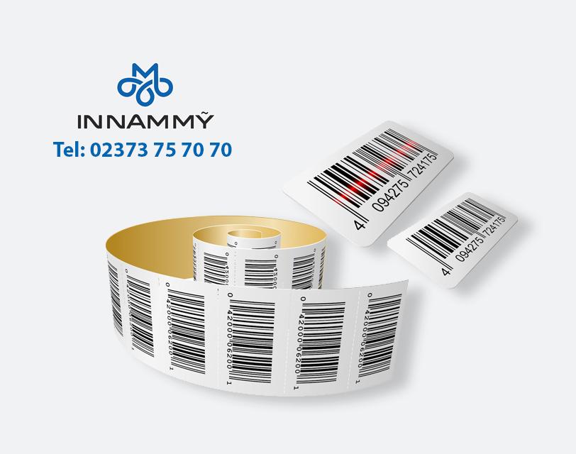In tem nhãn mã vạch sản phẩm tại Thanh Hóa.