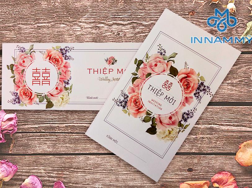 thiệp cưới 2018