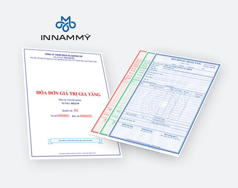 In hóa đơntại Thanh Hóa.
