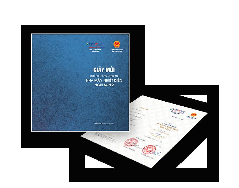 In giấy mời, tài liệu đài hội nhanh tại Thanh Hóa.