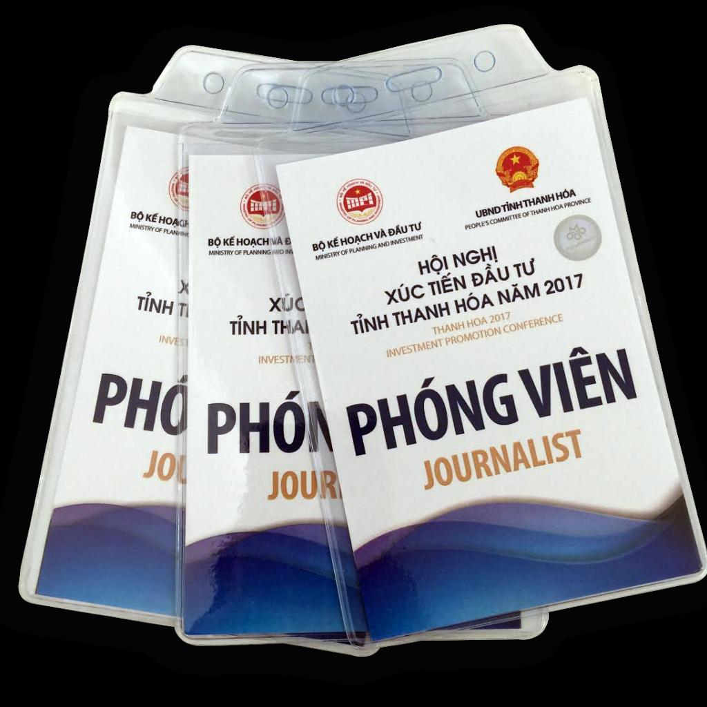 In thẻ đại biểu, tài liệu đại hội lấy ngay tại Thanh Hóa.