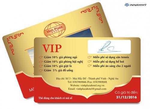 Thẻ VIP đẹp