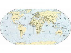 In A0 bản đồ