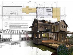 in bản vẽ xây dựng nhà