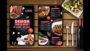 In menu theo yêu cầu